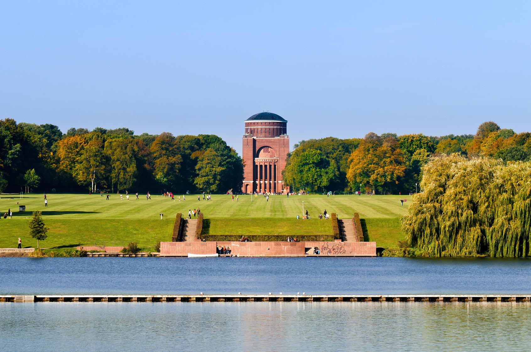 The Planetarium in Hamburg´s City Park