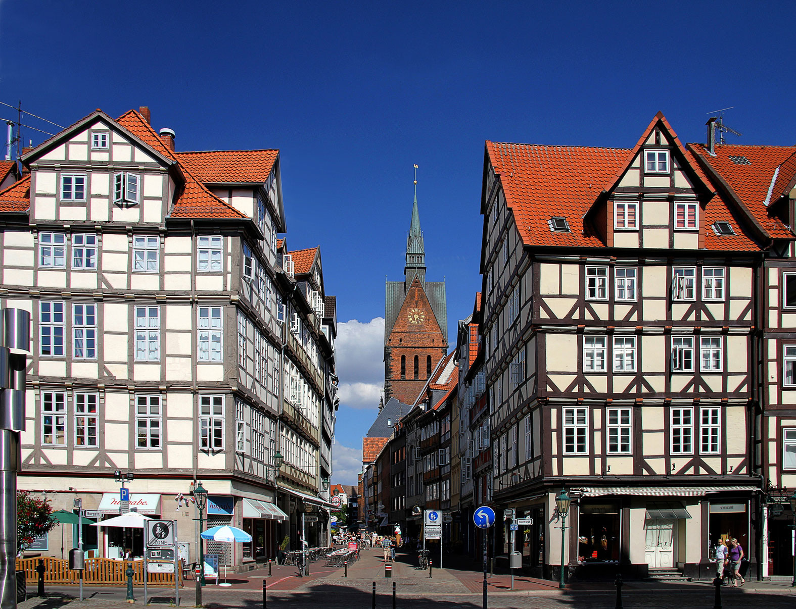 Historic centre Hannover