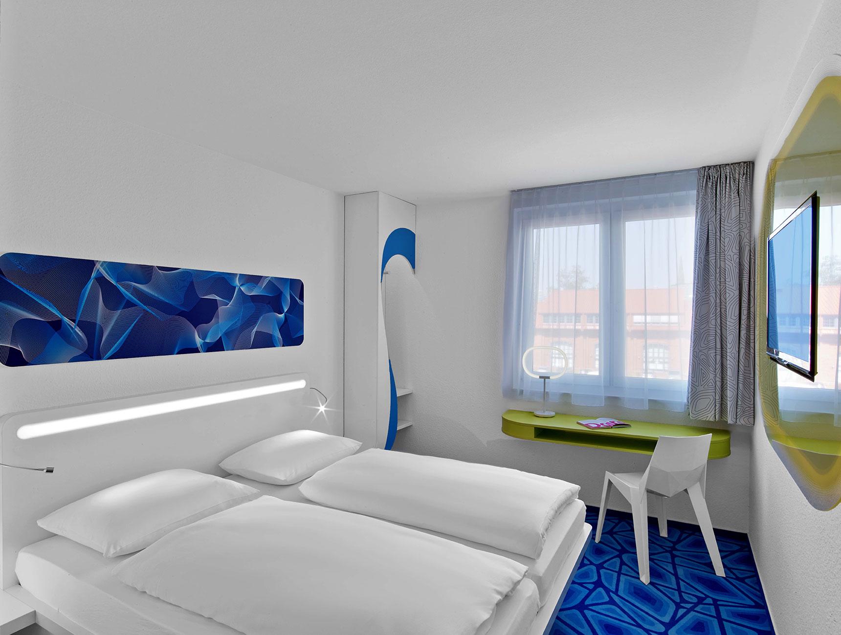 prizeotel Hamburg-City - your room