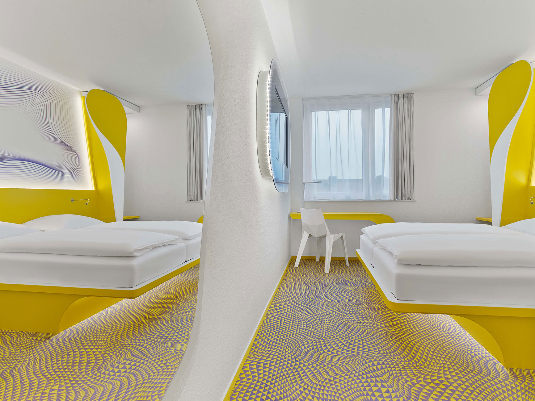 1,80 x 2,00m High-Comfort-Bed at prizeotel Hannover-City