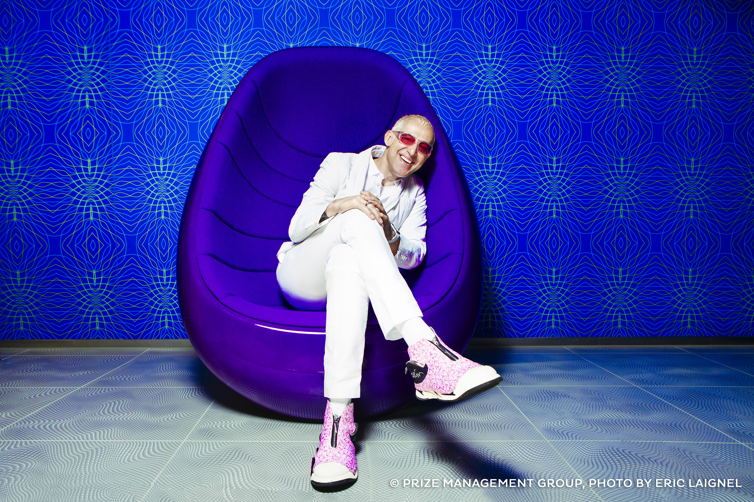 [Translate to English:] Karim Rashid