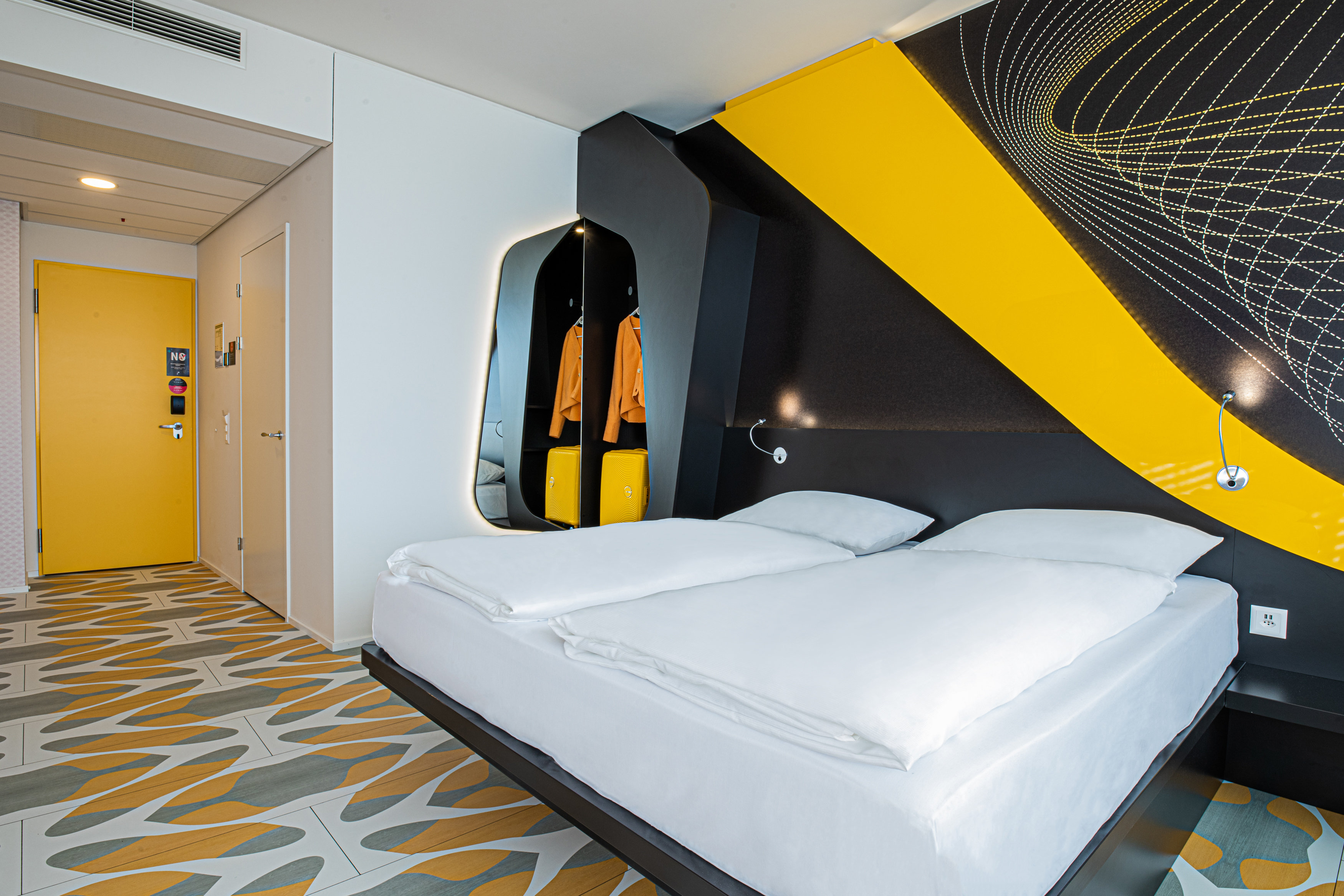 prizeotel Bern-City - Room, Bed