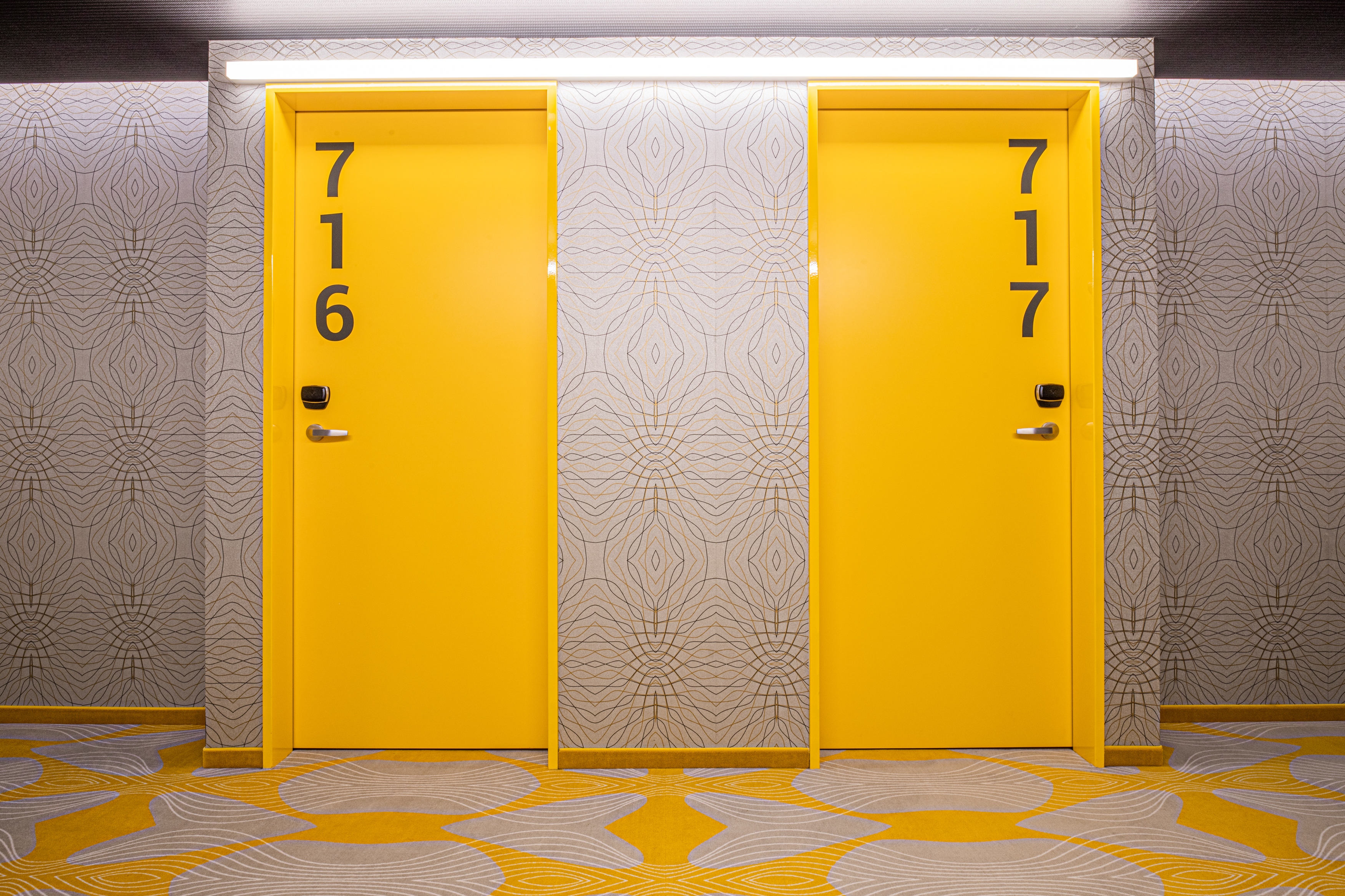 prizeotel Bern-City - Room doors