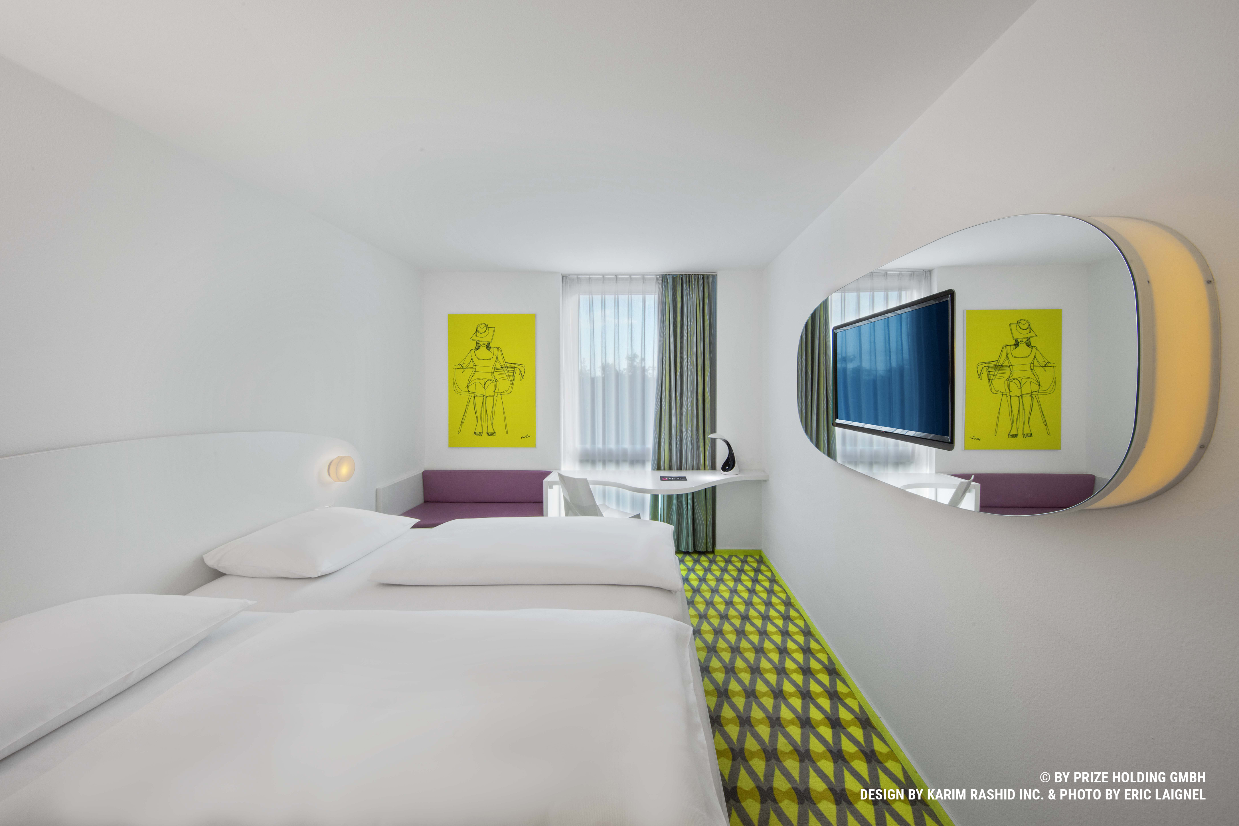 "prizeotel Bremen-City Designzimmer mit 32""Flat-Screen TV"