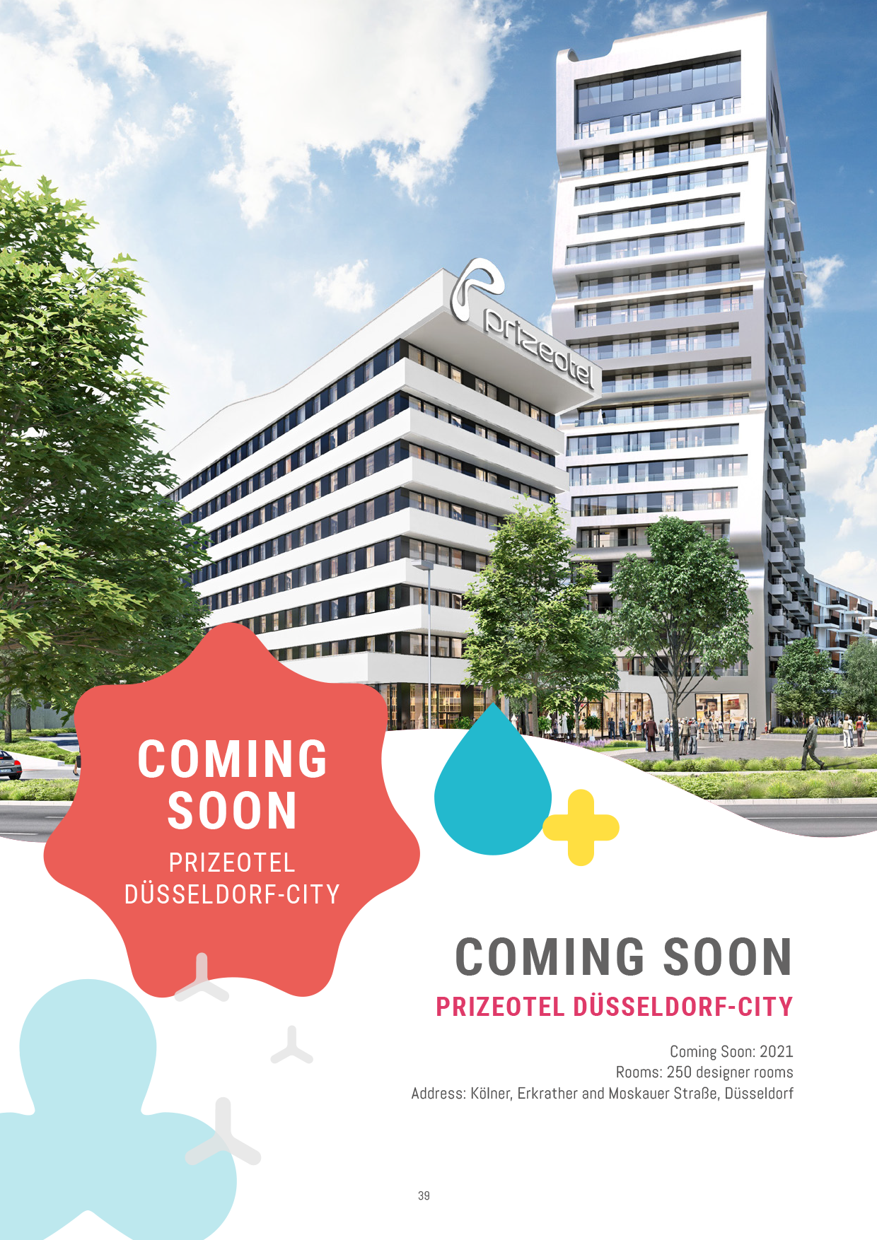 Coming Soon - prizeotel Dusseldorf-City